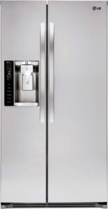 LG Side by side fridge